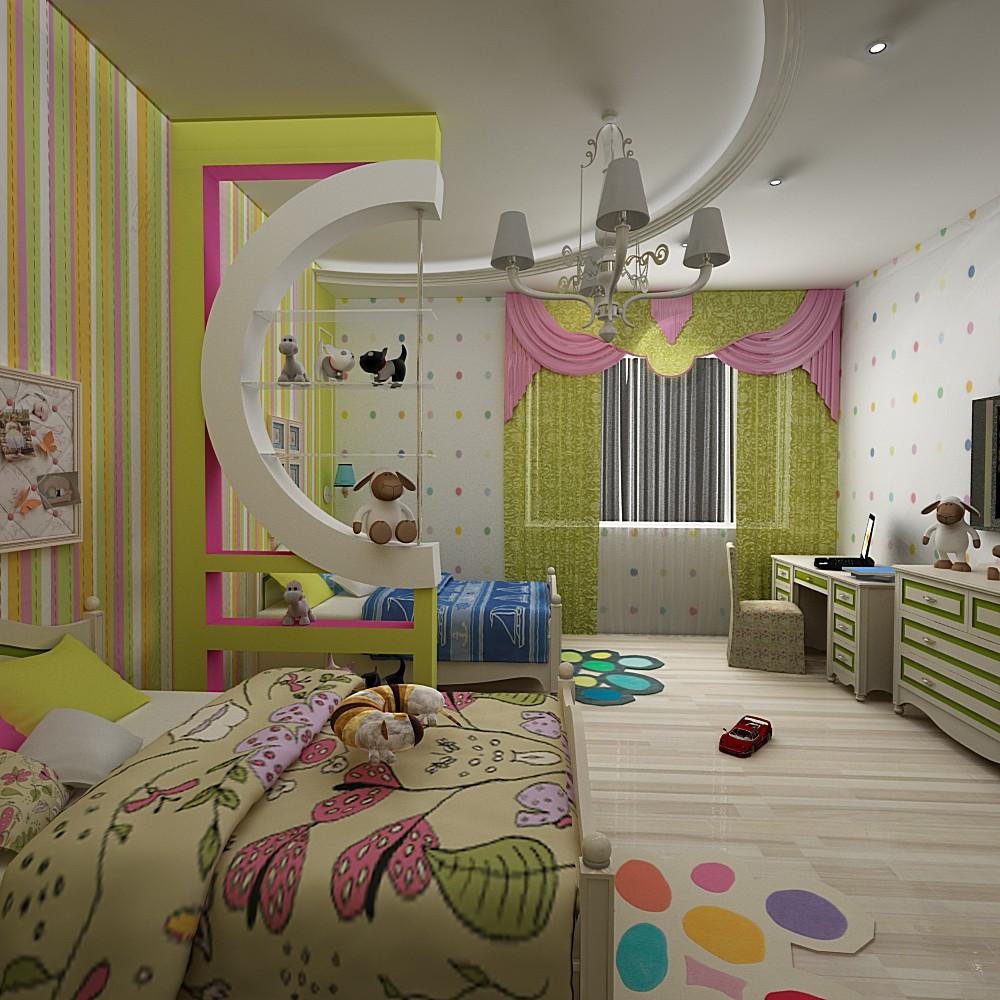 100 лучших идей дизайна: комната для мальчика и девочки на